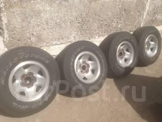 Bridgestone Dueler H/L. Всесезонные, 2014 год, износ: 5%, 4 шт