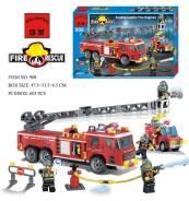 Конструктор 908 пожарка 607д