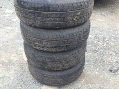 Dunlop SP 31. Летние, 2010 год, износ: 10%, 4 шт