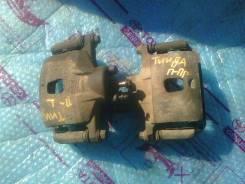 Суппорт тормозной. Nissan Tiida, C11, NC11, SC11, JC11