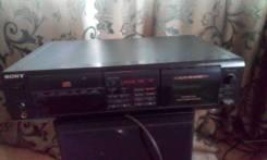Дека кассетная, дисковая sony txd-re210