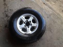 Продам комплект литья на джип на 16 на резине 275/70/R16. x16