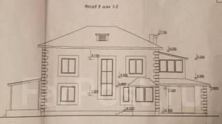 Продам проект дома. Проект содержит все коммуникации. 200-300 кв. м., 2 этажа, 4 комнаты, бетон
