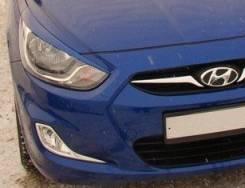 Накладка на фару. Hyundai Solaris, RB Двигатели: G4FA, G4FC