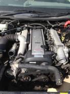 Двигатель. Toyota Crown, JZS171 Двигатель 1JZGTE