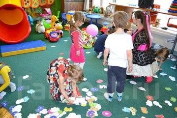 Детские развлекательные центры.