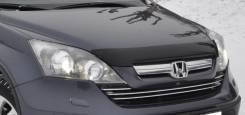 Дефлектор капота. Honda CR-V, RE5, RE7, RE4, RE3 Honda Fit Двигатели: R20A2, K24Z4, K24A