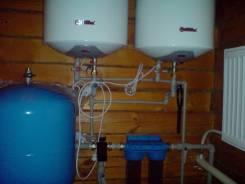Проектирование, монтаж систем водоснабжения , отопления , канализации.