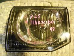 Фара. Mitsubishi Pajero, V25C, V25W