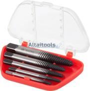 Набор экстракторов, 4, 5, 6, 8, 10 мм, 5 предметов МАСТАК 109-10004