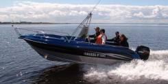 Grizzly 580 Fisherman. Год: 2016 год, длина 5,80м., двигатель подвесной, 150,00л.с., бензин. Под заказ