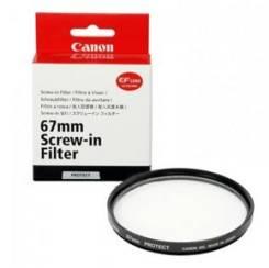 Защитный фильтр Canon UV 67mm. Для Canon, диаметр 67 мм
