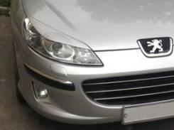 Накладка на фару. Peugeot 407