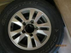 Продам комплект оригинальных колёс на Лэнд Крузер 200. 8.0x17 5x150.00 ET60 ЦО 110,0мм.