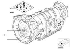 Оборотная (восстановленная) АКПП с электрогидр. приводом A5S 390R - YZ. BMW X5, E53. Под заказ