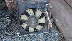 Вентилятор охлаждения радиатора. Honda Fit, GD4, GD3, GD2, GD1 Двигатель L13A