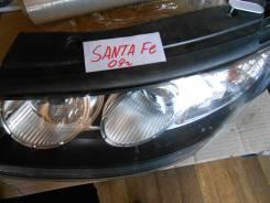 Фара левая для Hyundai Santa Fe/ Хендай Санта Фе (CM) 2005-2012