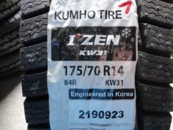 Kumho I'Zen KW31. Зимние, без шипов, 2015 год, без износа, 4 шт