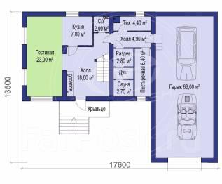 M-fresh Elegance Bonus. 200-300 кв. м., 2 этажа, 4 комнаты, бетон