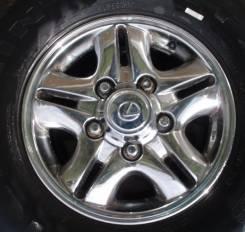 """Комплект Хром колпаков Lexus LX470. Диаметр 16"""""""", 1шт"""