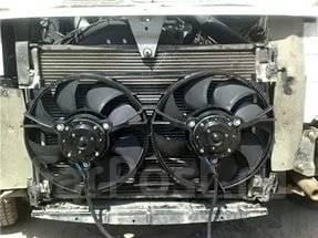 Вентилятор охлаждения радиатора. ГАЗ ГАЗель