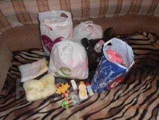 Вещи пакетом для девочки. Рост: 60-68, 68-74, 74-80 см
