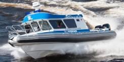 Northsilver. Год: 2017 год, длина 10,70м., двигатель подвесной, 300,00л.с., бензин. Под заказ