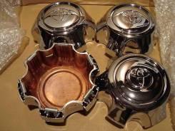 """Колпак для литых дисков Toyota Land Cruiser 80 ХРОМ. Диаметр 16"""""""", 4шт"""