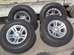 Продам колёса на А/Т резине SURF/Prado/Pajero/TLC/Safari/. 8.0x16 6x139.70 ET0 ЦО 110,0мм.
