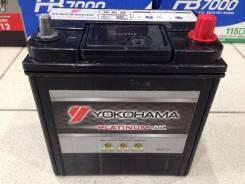 Yokohama Batteries. 40 А.ч., левое крепление, производство Япония