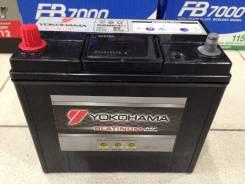 Yokohama Batteries. 55 А.ч., правое крепление, производство Япония