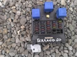 Блок предохранителей. Nissan Terrano, TR50, LUR50, LR50, PR50, LVR50, RR50, JLR50, JLUR50, JRR50, JTR50 Nissan Terrano Regulus, JLUR50, JTR50, JLR50...