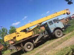 МАЗ 5334. Автокран Маз 14т, 11 150 куб. см., 14 000 кг., 14 м.