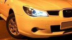 Накладка на фару. Subaru Impreza, GDC, GDD