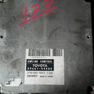 Блок управления двс. Toyota Isis Двигатель 1ZZFE