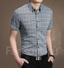 f05b1c4e020 Рубашка (сорочка) хлопковая мужская новая LC Waikiki