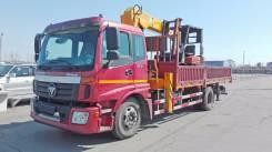 Foton Auman. Бортовой грузовик с краном 2014г. в., 3 760 куб. см., 10 000 кг.