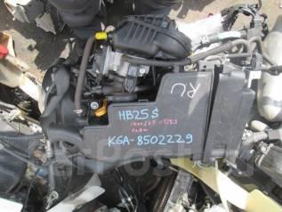 Двигатель. Mazda Carol, HB25S Двигатель K6A
