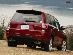 Спойлер. Subaru Forester