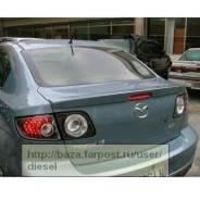 Накладка на спойлер. Mazda Axela Mazda Mazda3