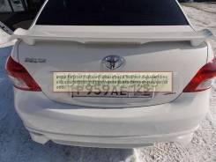 Спойлер. Toyota Belta