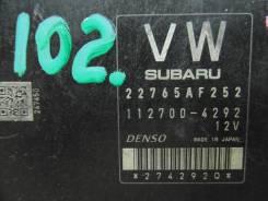 Блок управления двс. Subaru Impreza, GJ3
