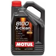 Motul 8100 X-Clean. Вязкость 5W-40, синтетическое
