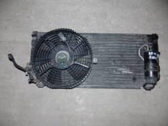 Радиатор кондиционера. Toyota Sprinter Carib, AE111G, AE111