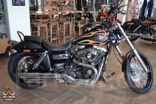 Harley-Davidson Dyna Wide Glide. 1 690 куб. см., исправен, птс, без пробега