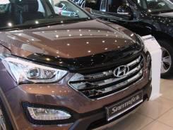 Дефлектор капота. Hyundai Santa Fe, DM Двигатели: D4HA, D4HB, G4KE