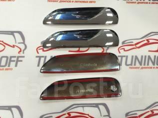 Накладка на ручки дверей. Honda Fit, GE6, GE7, GE9, GE8 Двигатели: L13A, L15A