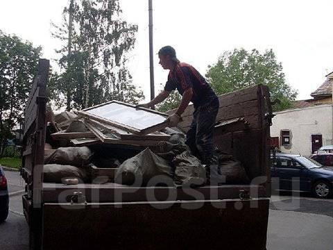 Вывоз строительного мусора, старой мебели! Грузчики! Прайс внутри!