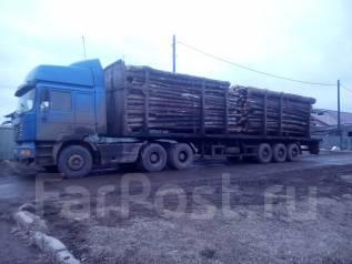 Shaanxi. Продам сцепку тягач с полуприцепом МАЗ сортиментовоз., 9 726 куб. см., 73 000 кг.