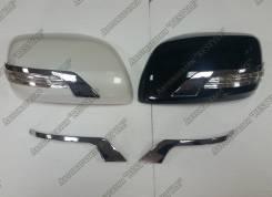 Накладка на зеркало. Toyota Land Cruiser, UZJ200W, J200, GRJ200, URJ200, URJ202, UZJ200, VDJ200, URJ202W, GDJ150L, GDJ150W, GDJ151W, GRJ150, GRJ150L...